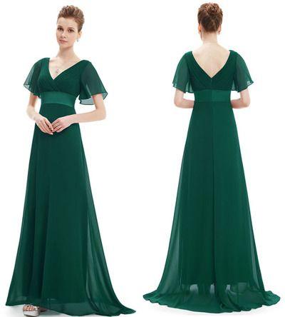 Short Sleeves Prom Dress,Prom Dresses 2016,Chiffon Prom Dress,V Neck Prom Dress,Charming Prom Dress,Cheap Prom Dress,PD1228