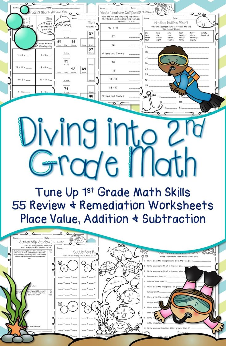 School Worksheets 1st Grade : Back to school math worksheets first grade about me