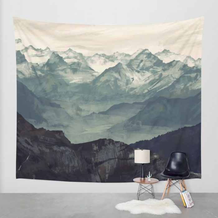 Buy Mountain Fog Wall Tapestry by Micaela Dawn. Worldwide shipping available at Society6.com. Just one of millions of high quality products available.