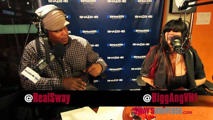 Big Ang Explains Raspy Voice on #SwayInTheMorning