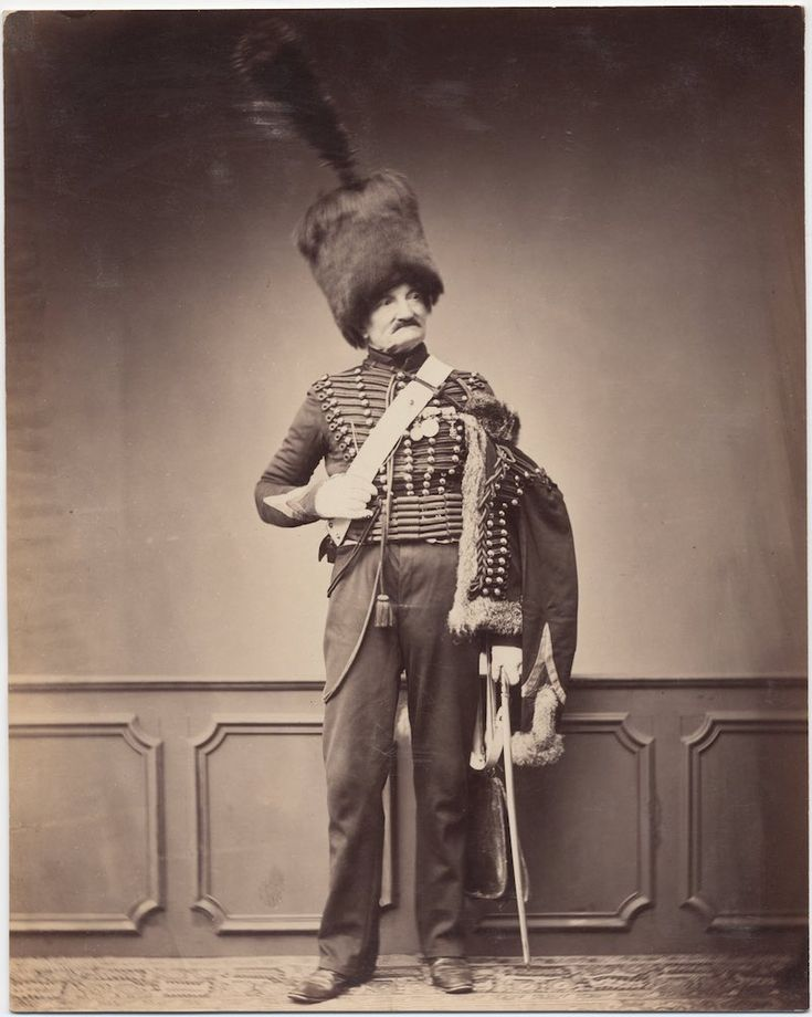 Monsieur Maire, 7th Hussars, c. 1809-15  The only surviving images of veterans of the Napoleonic Wars
