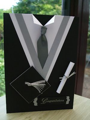 Here's a masculine version of this creative graduation card