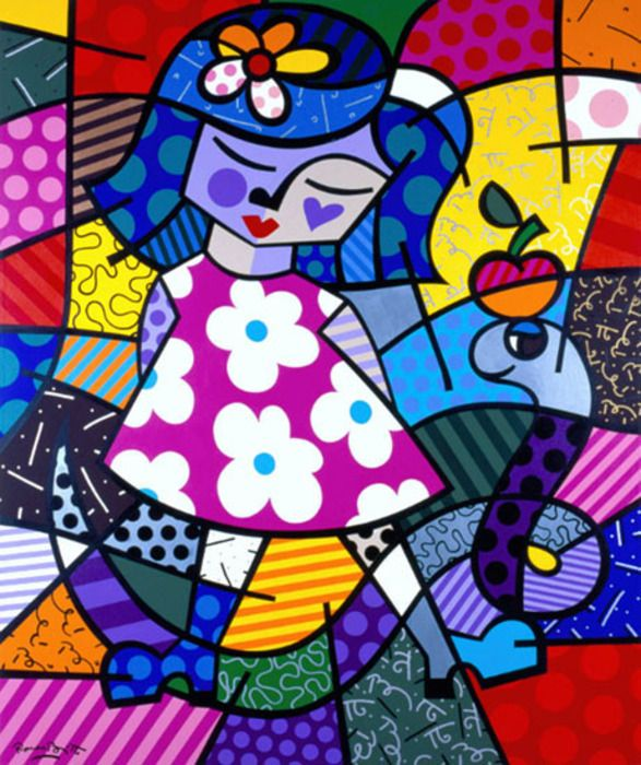 9) Favorite Romero Britto Art