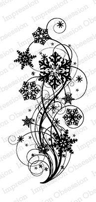 Snowflake Flourish -: