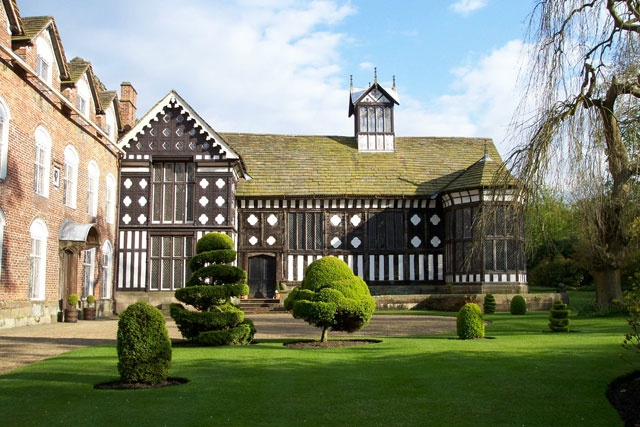 Rufford Old Hall, Ormskirk, Lancashire