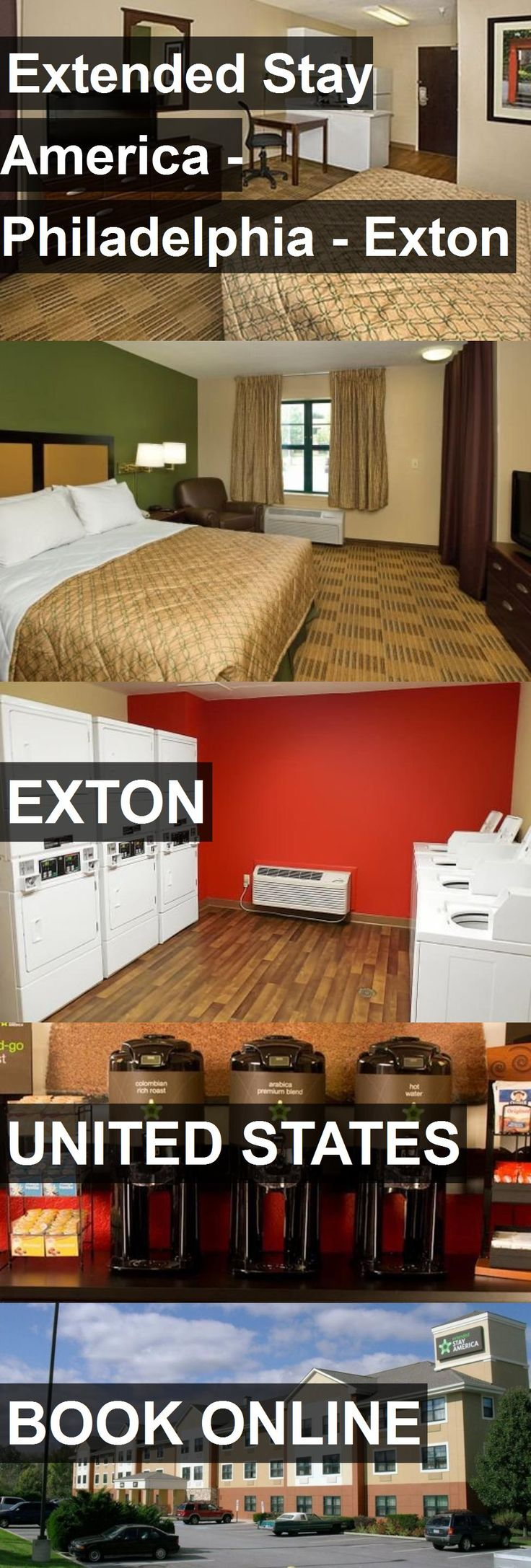 Hotel Extended Stay America - Philadelphia - Exton in Exton, United States. For more information, photos, reviews and best prices please follow the link. #UnitedStates #Exton #ExtendedStayAmerica-Philadelphia-Exton #hotel #travel #vacation