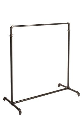 Single Ballet Bar Clothing Rack Pipeline | Store Supply Warehouse