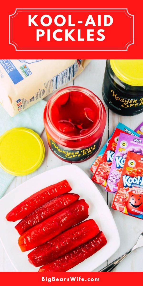 Kool Aid Pickles Kool Aid Easy Dinner Recipes Comfort Food Southern