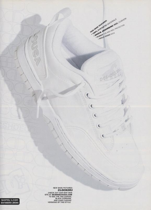 d1a71856d90 DC Shoes - Clocker 3 Model Ad (1998)   Skately Library