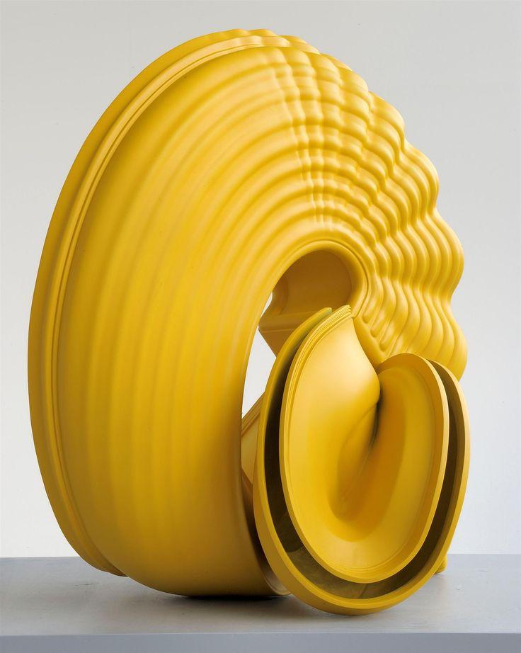 Sculpture by Tony Cragg. #art #sculpture #yellow