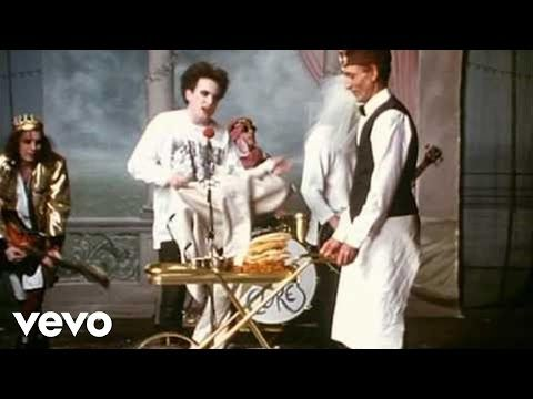 the cure - friday i'm in love dressed up to the eyes it's a wonderful surprise to see your shoes and your spirits rise throwing out your frown and just smiling at the sound and as sleek as a shriek...