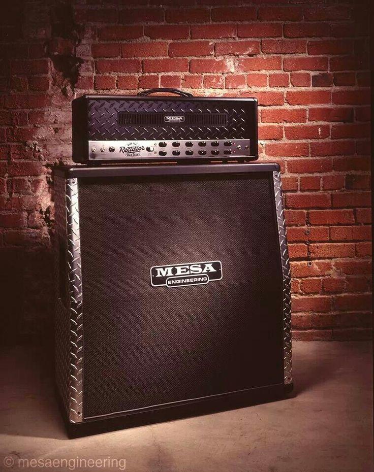The heavy rock icon Mesa Boogie Rectifier. Wonderful.