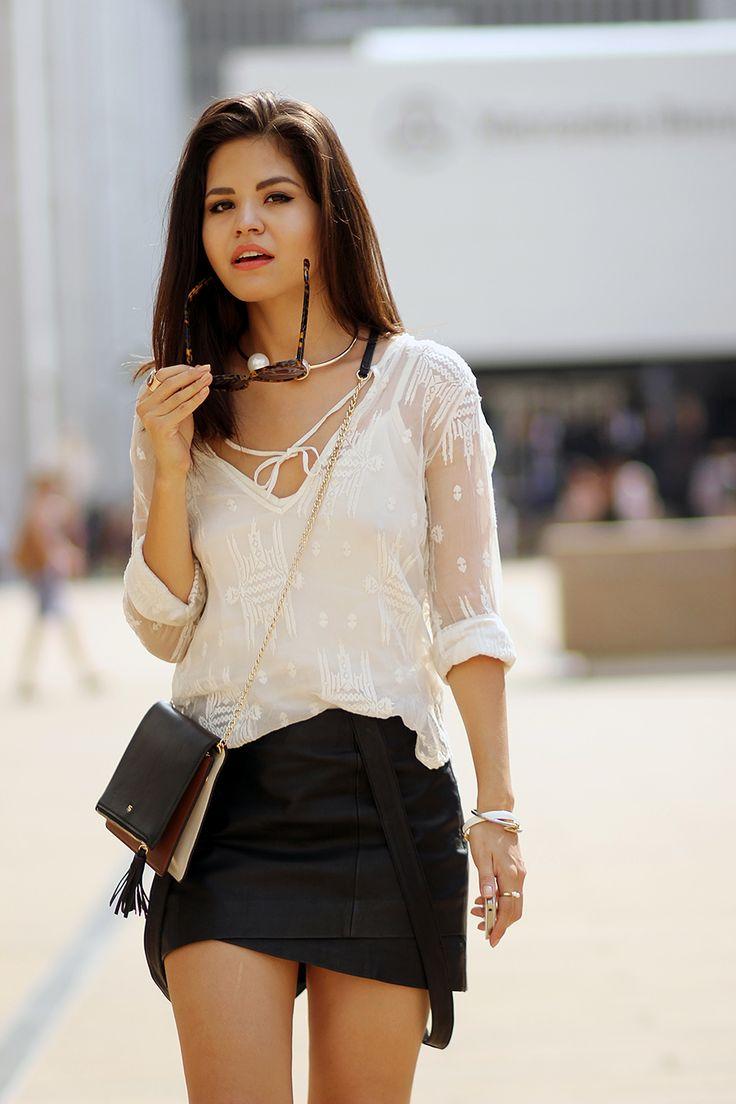 07-karen-walker-sunglasses-capulet-silk-blouse-maje-leather-skirt-suspenders-guess-sandals-mules