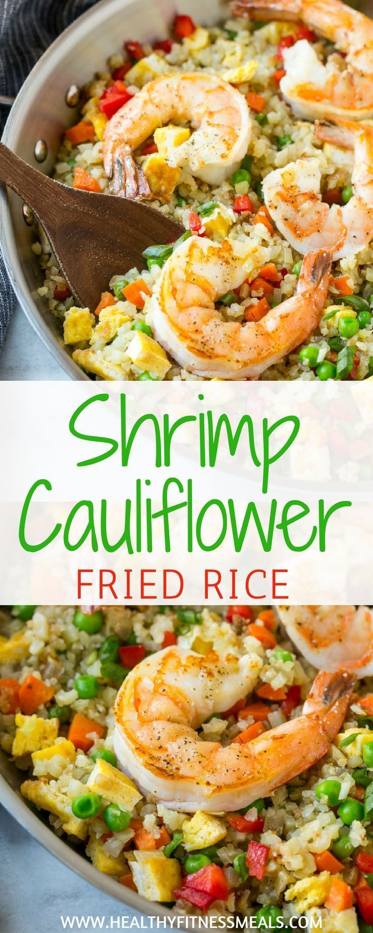 Garnelen Blumenkohl Gebratener Reis | Low Carb | Blumenkohl Gebratener Reis Rezepte | Seaf …   – Healthy Lunch Recipes