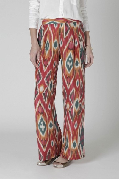 These are so me. Loove ikat.
