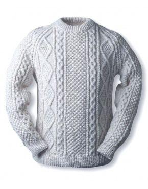 Mc Carthy clan Aran knitted sweater