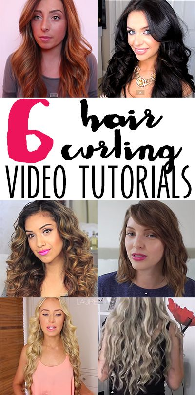 How to curl straight hair - 6 amazing ways!