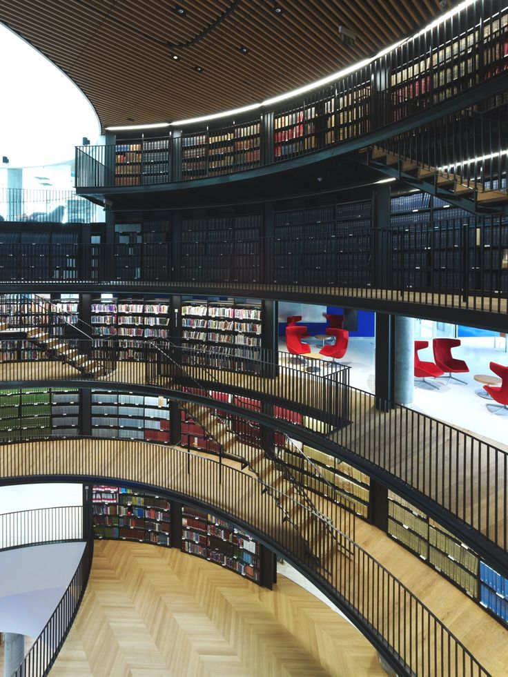 I visited this library in a dream once.=====Library-of-Birmingham-England-08