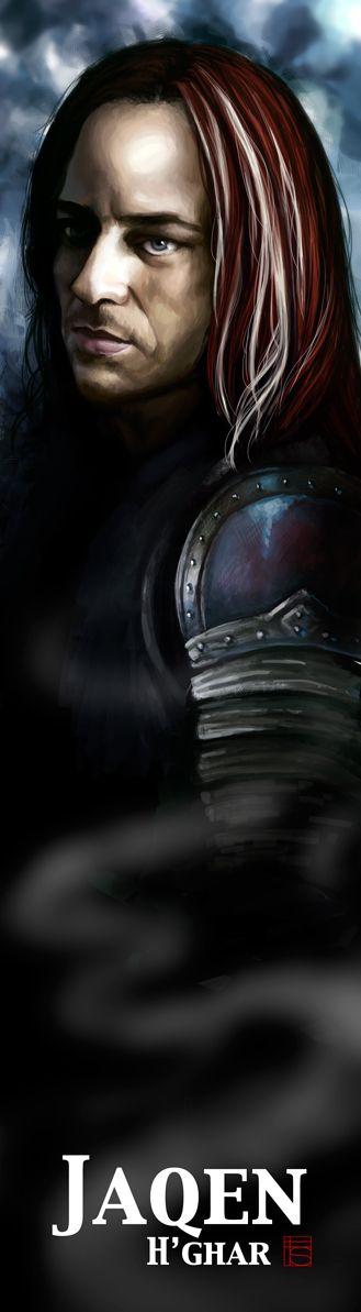 Jaqen H'ghar Bookmark by vocatur.deviantart.com