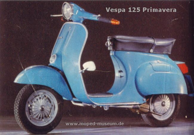 Vespa 125 Primavera - 1967 ~ Vespa Scooters