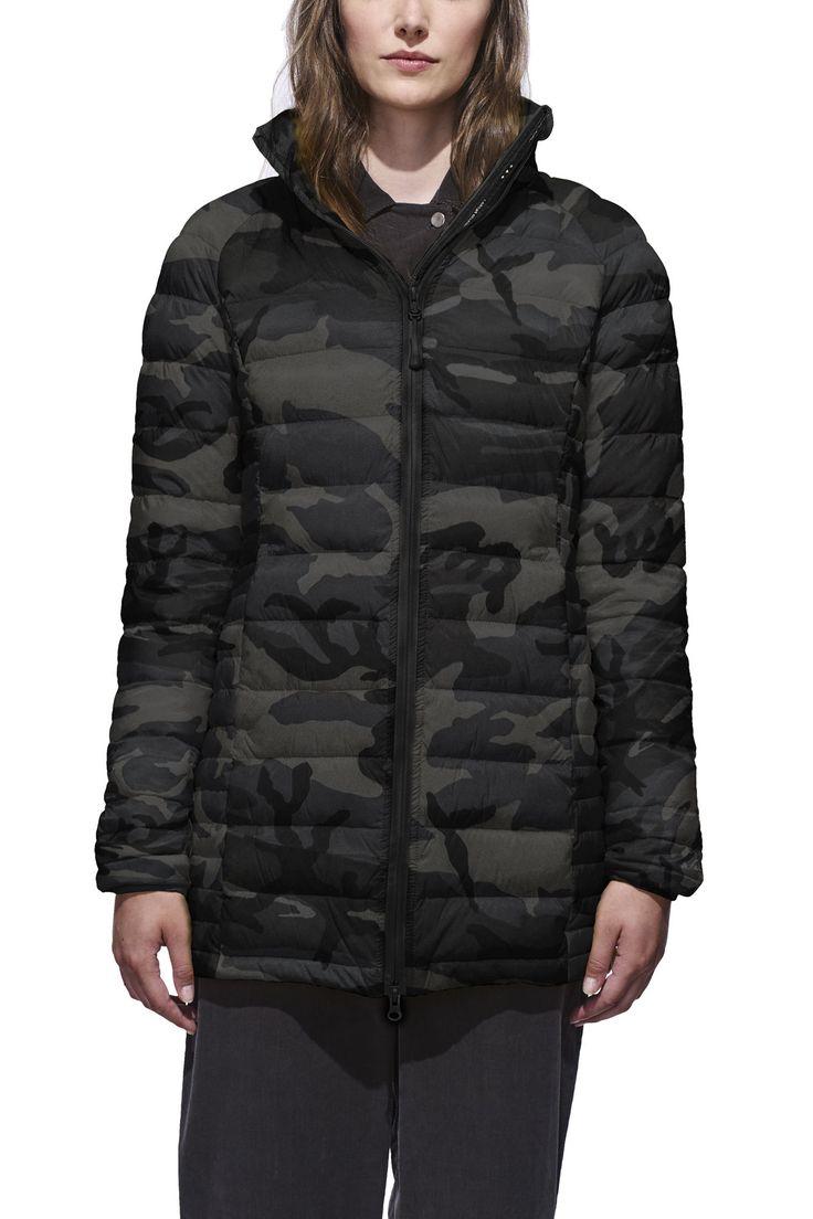 Brookvale Hooded Coat Black Label   Canada Goose
