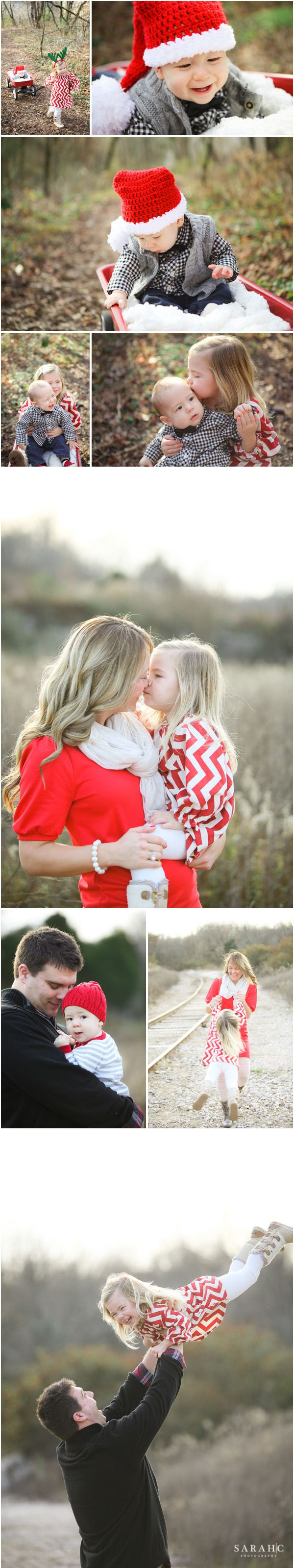 Family Christmas Photo Outfit Ideas. by Sarah C. Photography