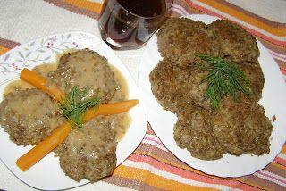 W Mojej Kuchni Lubię.. : soczewica zielona+kasza gryczana= pyszne kotlety.....