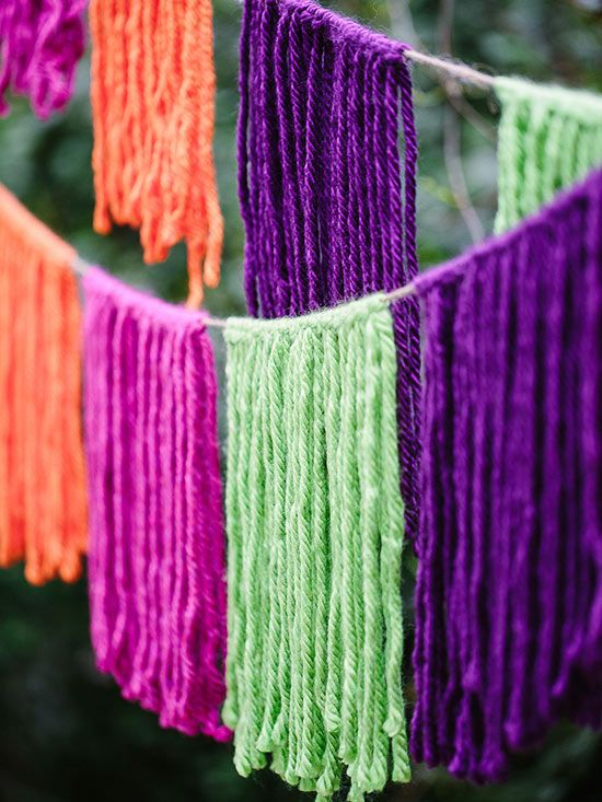 Colorful String Banner