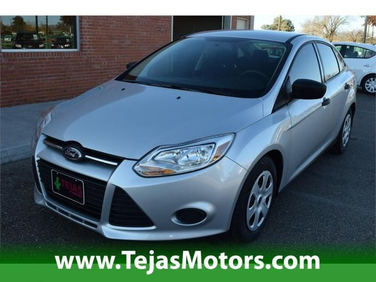 2013 Ford Focus 4dr Sdn S At Tejas Motors In Lubbock Texas