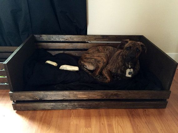 Rustic Dog Bed Frame Large by RuralKountry on Etsy