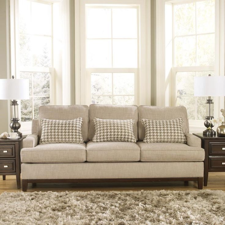 Images Of Mid Century Modern Family Rooms With Beige Sofas