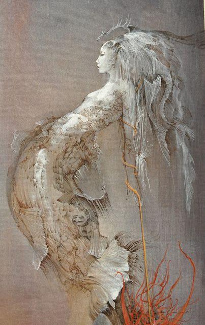 ♒ Mermaids Among Us ♒ art photography paintings of sea sirens water maidens -