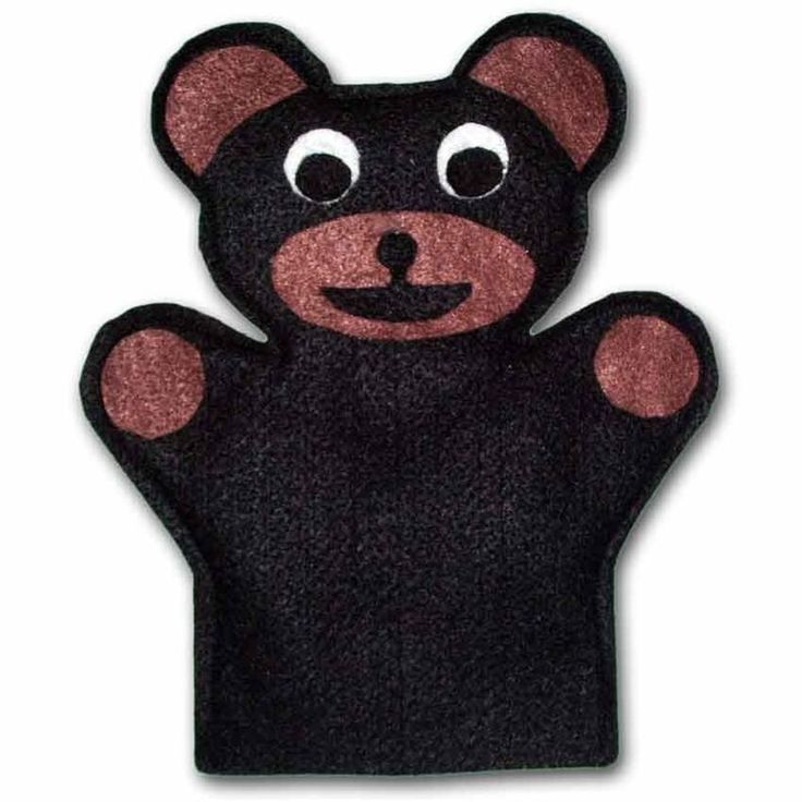 Bear Hand Puppet Sewing Pattern. Sew your own Animal hand puppets with this puppet pattern! One size fits most. A puppet is by far the best toy you can give to your child.They are exceptional toys for all ages! From infants to 8, puppets are loved and played with FREQUENTLY!  Puppets are excellent for teaching social conversational skills.They are perfect for children with conditions such as autism to really work through various issues. $1.99
