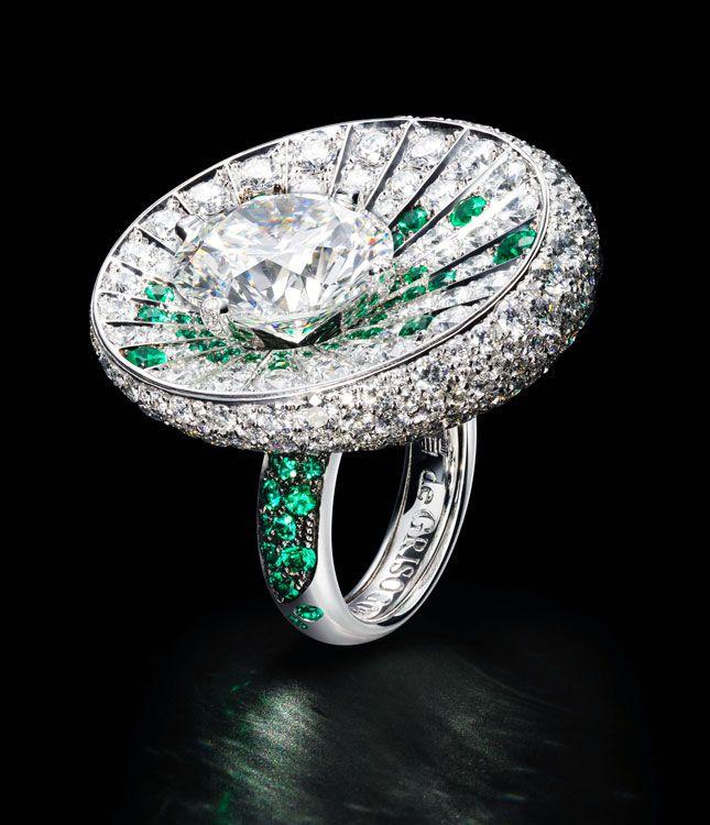 Коктейльные кольца de Grisogono   Украшения   VOGUE