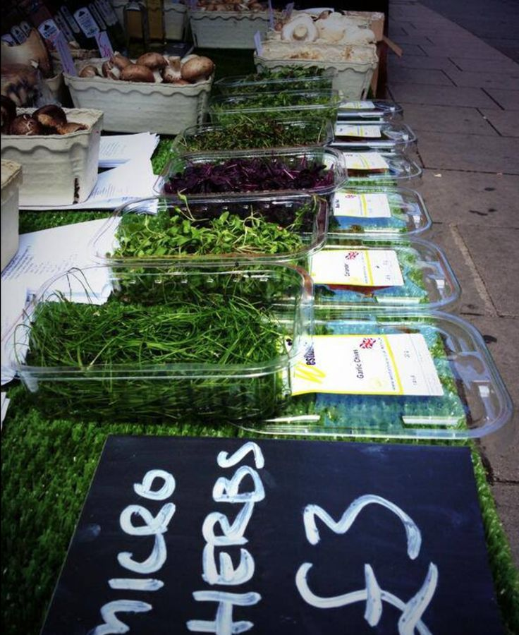 Micro Herbs from the Portobello Mushroom Man near Talbot Road on Portobello Road.  Portobello and Golborne Road street markets also have more than 20 regular hot food stalls with cuisine from all over the world, from Africa and the Middle East to Spain, Germany, France, Mexico and the Caribbean. Plus, in the weekend, Acklam Village Market opens its doors with even more.
