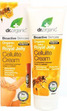 Organic Royal Jelly Cellulite Cream, 200 ml