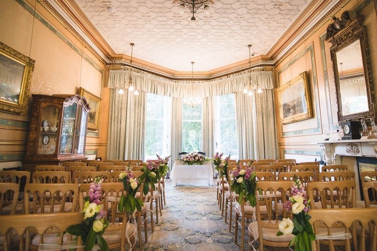 Wedding ceremony room styling at The Mansion House, Bristol | www.theplanninglounge.co.uk | Image courtesy of http://www.lifeinfocusphotography.co.uk/