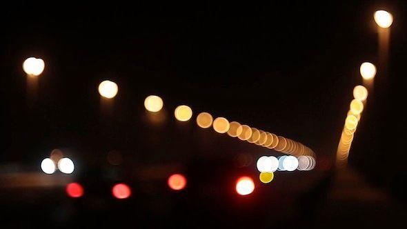 Night City Traffic by MrBoke Night City Traffic Bokeh Full HD