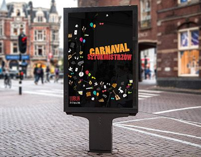"""Check out new work on my @Behance portfolio: """"Magicians Carnival poster design""""…"""