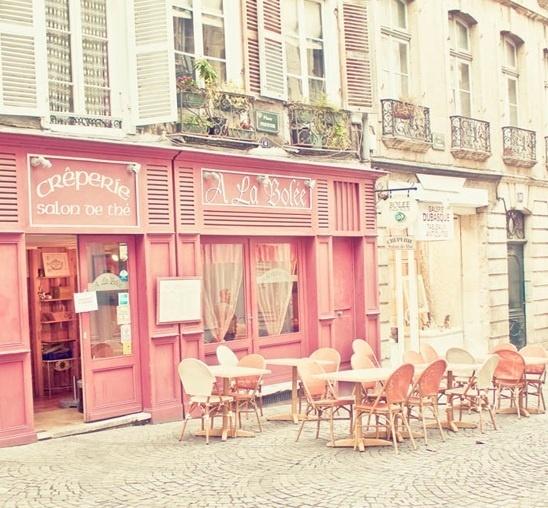 パリのクレープは天下一品!