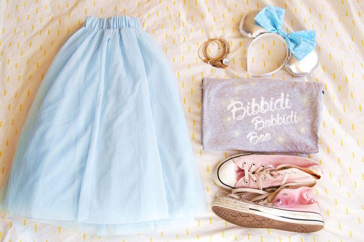 Bibbidi Bobbidi Tulle Disney Style Trip Countdown Tulle