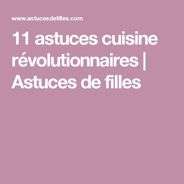 11 astuces cuisine révolutionnaires   Astuces de filles