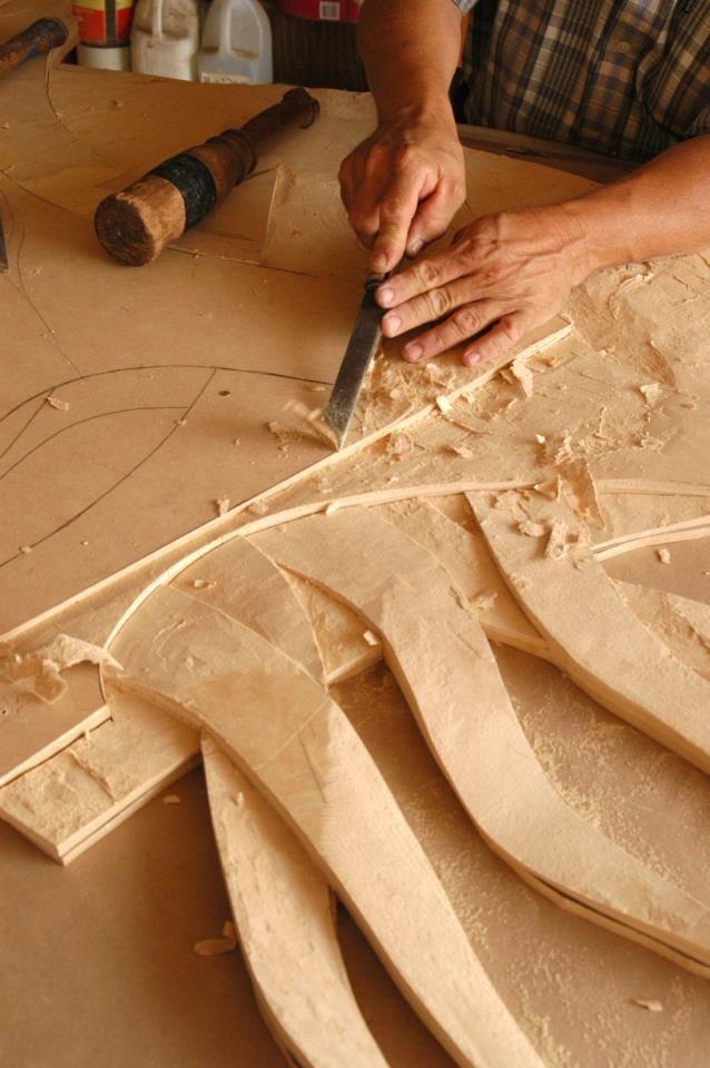 La talla en madera