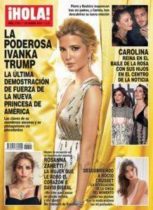 El Kiosko Rosa… 22 de marzo de 2017: Revista Hola