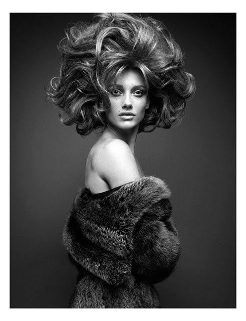 High hair, high hopes  #editorial #hair