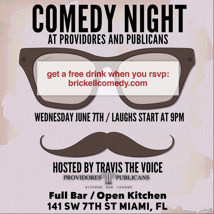 Comedy TONIGHT at Providores and Publicans (@providoresandpublicans) #Miami #miamicomedy #miamilife #miamievents #brickell #brickellcomedy #brickellliving #brickelllife #brickellnightlife #brickelldining #brickellbar