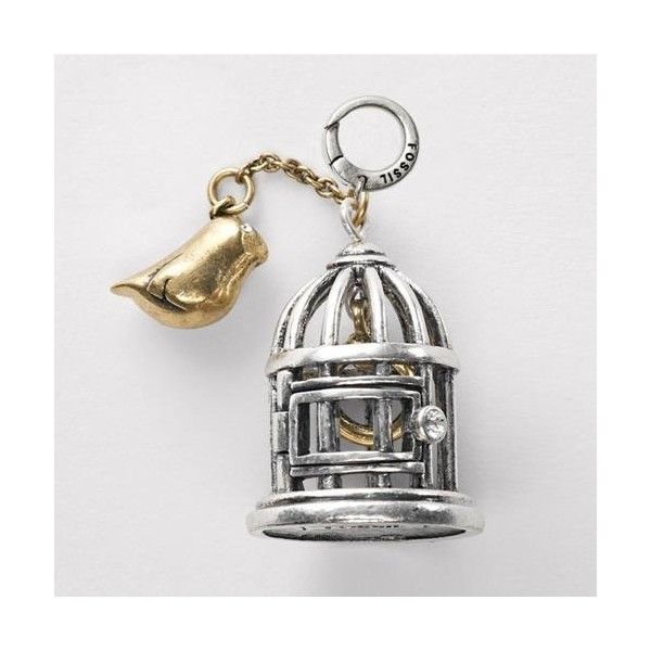 Fossil Bird Cage Charm  i have this ~hs