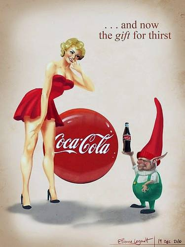 ♥ Coca Cola | Coke Retro advert | Enjoy Coke | http://defharo.com