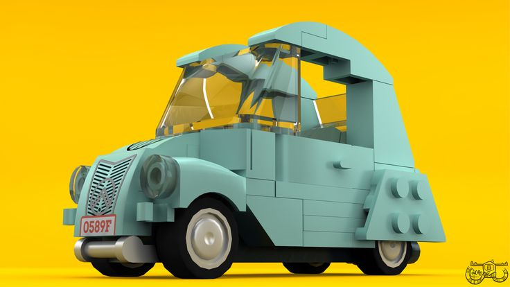 https://flic.kr/p/tmnM49 | LEGO Citroën 2CV | A LEGO Citroën 2CV.   Expect to see more of it soon, bonus points for anyone who recognises who's it is.