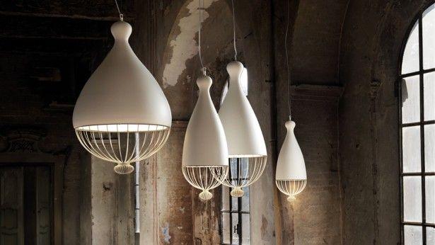 Lampenserie geïnspireerd op Italiaanse huizen